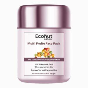 Multi Fruite Tan Removal & Depigmentation Face Pack